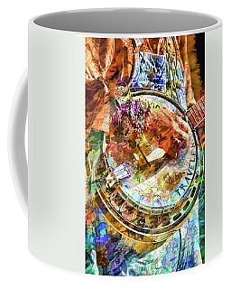 Colors Of A Banjo Busker Coffee Mug by John Haldane