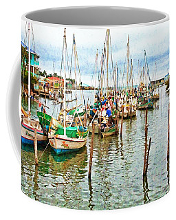 Colors Of Belize - Digital Paint Coffee Mug