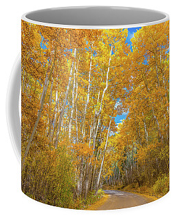 Coffee Mug featuring the photograph Colors Of Fall by Darren White
