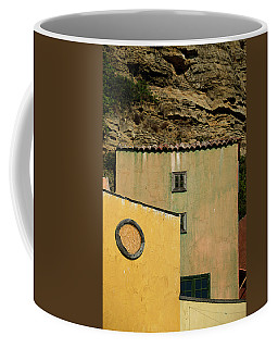 Coffee Mug featuring the photograph Colors Of Liguria Houses - Facciate Case Colori Di Liguria 2 by Enrico Pelos