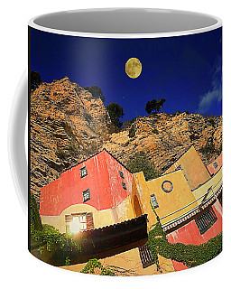 Coffee Mug featuring the photograph Colors Of Liguria Houses - Facciate Case Colori Di Liguria 3 by Enrico Pelos