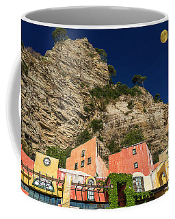 Coffee Mug featuring the photograph Colors Of Liguria Houses - Facciate Case Colori Di Liguria 4 by Enrico Pelos