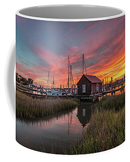 Colors Of Shem Creek - Mt. Pleasant Sc Coffee Mug