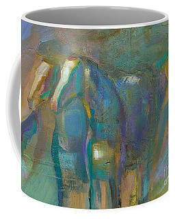 Coffee Mug featuring the painting Colors Of The Southwest by Frances Marino