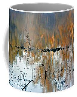 Watercolor Pond Coffee Mug
