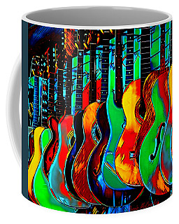 Coffee Mug featuring the digital art Colour Of Music by Pennie McCracken