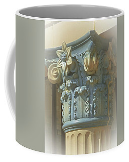 Coffee Mug featuring the photograph Coloured With Sand And Sky by Connie Handscomb