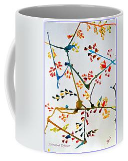 Colourful Blossoms Coffee Mug