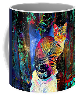 Colourful Calico Coffee Mug