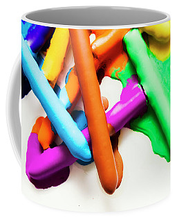Colourful Crayon Art Coffee Mug