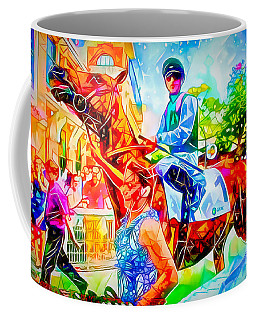 Colourful Deauville Coffee Mug by Jack Torcello