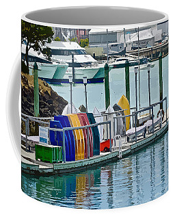 Colourful Dinghies Auckland Coffee Mug