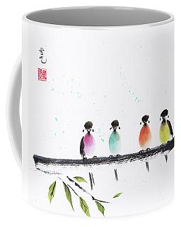 Colourful Family Coffee Mug