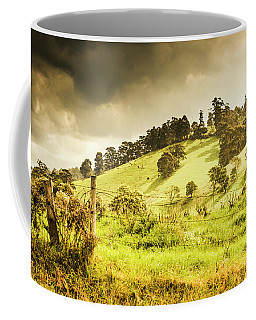 Colourful Fields And Farmyards Coffee Mug