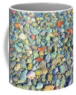 Colourful Lake Rocks Coffee Mug
