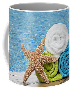 Colourful Towels Coffee Mug