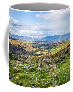 Coffee Mug featuring the photograph Colourful Undulating Irish Landscape In Kerry  by Semmick Photo