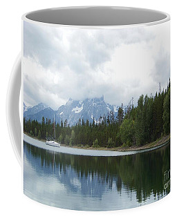 Coffee Mug featuring the photograph Colter Bay by Charles Robinson