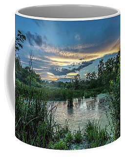 Columbia Marsh Sunset Coffee Mug