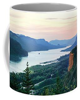 Columbia River With Vista House Coffee Mug