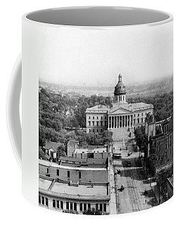 Columbia South Carolina - State Capitol Building - C 1905 Coffee Mug by International  Images