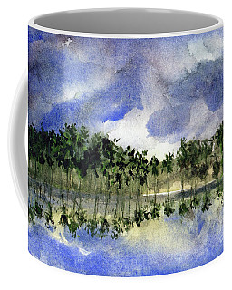 Columbian Shoreline Coffee Mug by Randy Sprout
