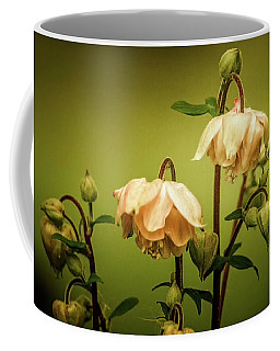 Columbines In Summer Coffee Mug by Skip Tribby