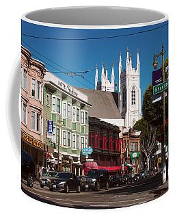 Columbus And Stockton In North Beach Coffee Mug