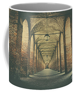 Columns In Sabbionetta, Italy Coffee Mug