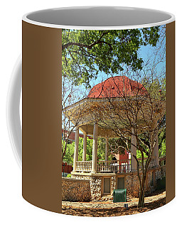 Comal County Gazebo In Main Plaza Coffee Mug