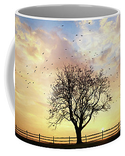 Coffee Mug featuring the photograph Come Fly Away by Lori Deiter