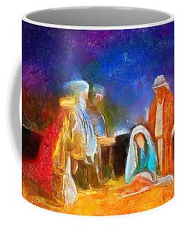 Come Let Us Adore Him Coffee Mug by Wayne Pascall