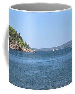 Coffee Mug featuring the photograph Come Sail Away by Living Color Photography Lorraine Lynch