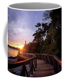 Come Walk With Me Coffee Mug by Keith Boone