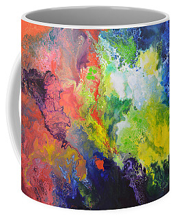 Comet Coffee Mug by Sally Trace