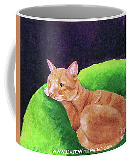 Comfy Kitty_dwp_may 2017 Coffee Mug
