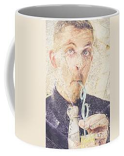Coffee Mug featuring the digital art Comic Soda Poster by Jorgo Photography - Wall Art Gallery