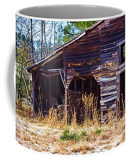 Coming Apart With Character Barn Coffee Mug