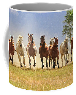 Coffee Mug featuring the photograph Coming At You by Jack Bell