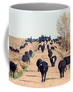Coming Down The Road Coffee Mug