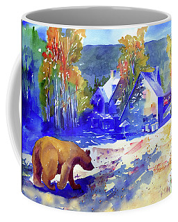 Coming For Dinner At Rainbow Lodge Coffee Mug