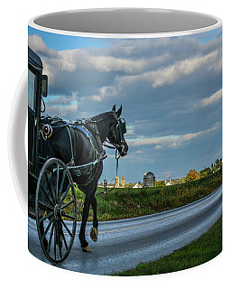 Coming Home At Dusk Coffee Mug