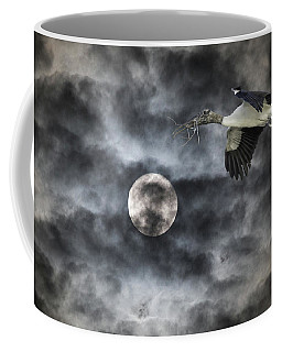 Coffee Mug featuring the photograph Coming Home by Richard Goldman