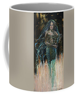 Coming Out Of The Dark Coffee Mug by Linda Olsen