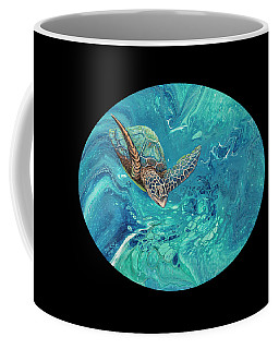 Coffee Mug featuring the painting Coming Out Of The Depths 2 by Darice Machel McGuire