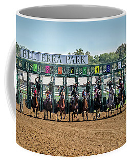 Coming Out Of The Gate Coffee Mug