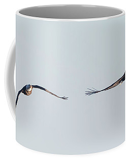 Coming Right At You - Two Bald Eagles Coffee Mug