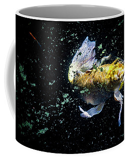 Coffee Mug featuring the photograph Coming Up For Air by Eric Christopher Jackson