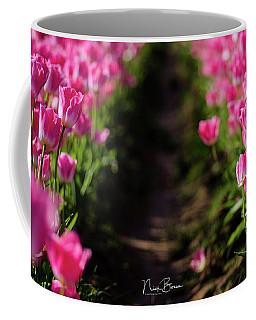 Coming Up Pink Coffee Mug by Nick Boren