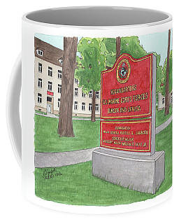 Commander Major General Russell A. Sanborn - Marforeuraf Coffee Mug
